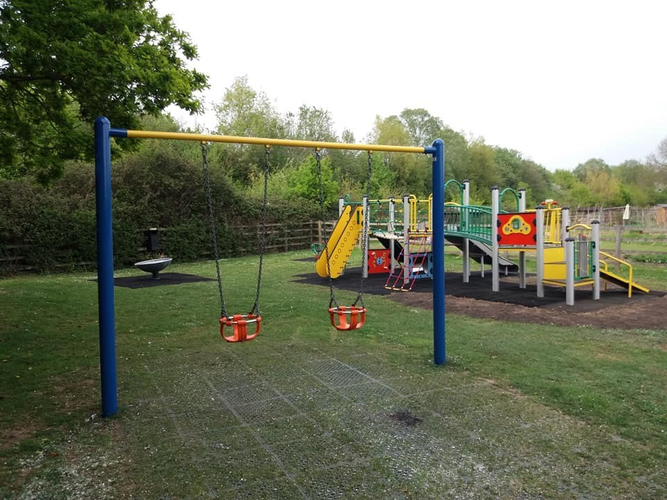 manor fields play area